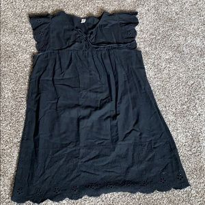 Flowy peasant dress